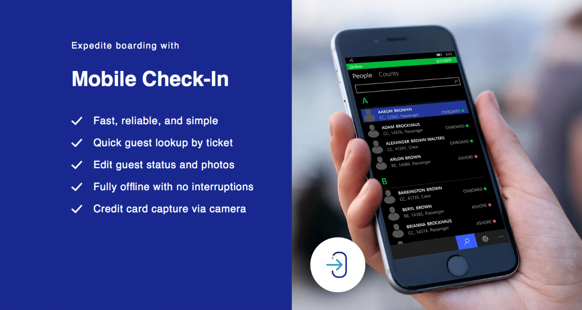 Mobile Check-in